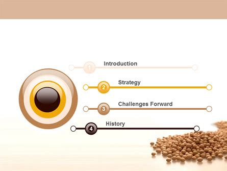 soy beans powerpoint template backgrounds 06609