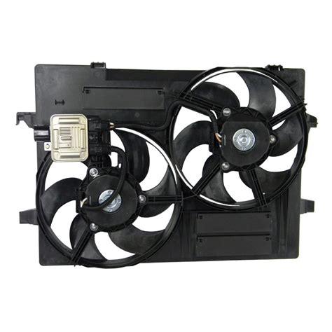 jaguar x type cooling fan module radiator cooling fan motor and module x type 2001 2010