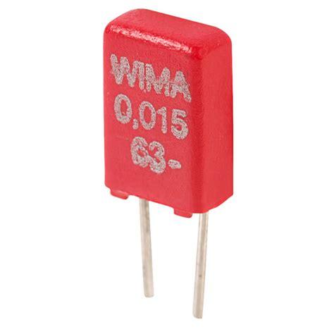 wima polyester capacitors wima mks0c021500b00ms 15nf 63v mks02 mini polyester capacitor rapid