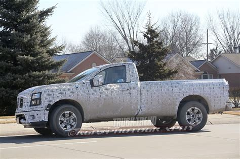 nissan work truck spied nissan titan regular cab work truck