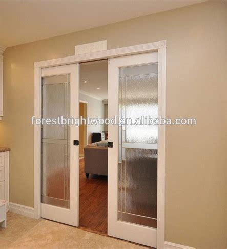 pocket doors with frosted glass interiores de madera correderas puertas corredizas de