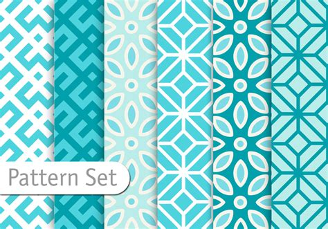 geometric pattern in blue azuro blue geometric patterns download free vector art