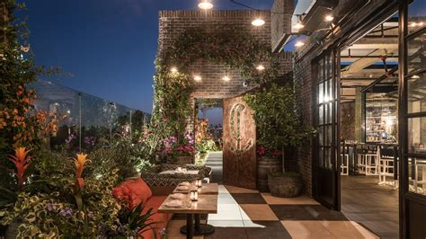 catch   coolest damn rooftop  west hollywood eater la