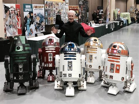 real r2d2 robot for sale assembling astromechs with the r2 d2 builders club