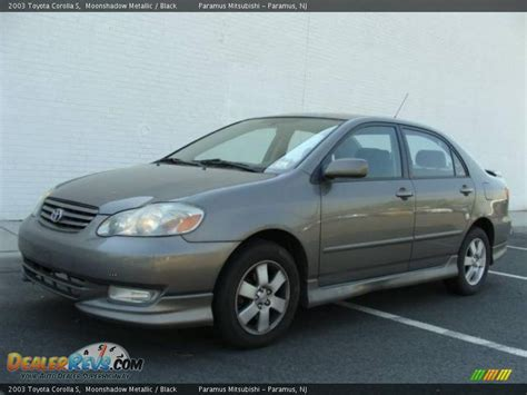 2003 Toyota Corolla S 2003 Toyota Corolla S Moonshadow Metallic Black Photo 1