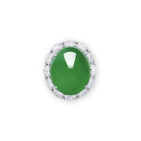 Sale Ring Besi 8x12 Besi 5 Mm a magnificent jadeite and ring by chow fook christie s