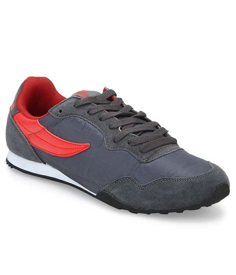 fila sports shoes fila ft1 gray sport shoes price in india buy fila ft1