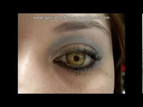 special effects color contacts beautiful olive green honey special effect color contact