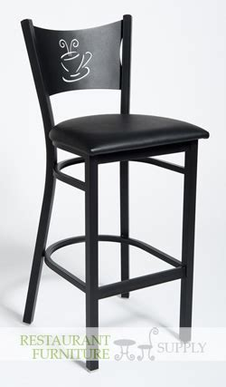 Coffee Cup Bar Stools by Coffee Cup Metal Bar Stool