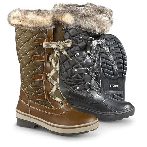 s winter boots s cougar aspen quilted winter boots 297733