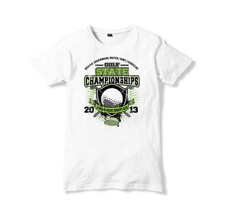 Gulf T Shirt golf event t shirt networking plus