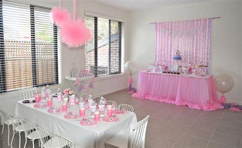birthday princess theme decoration princess via kara s ideas decorations cake