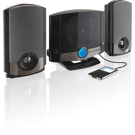 Home Audio Shelf Systems by Gpx Shelf Vertical Home System Cd Player Speaker Radio