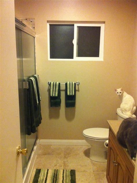 curtain    small bathroom window