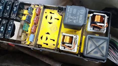 relay de bomba de gasolina ford ranger