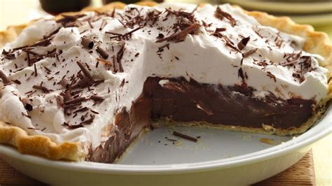 dark chocolate stout cream pie recipe bettycrocker com