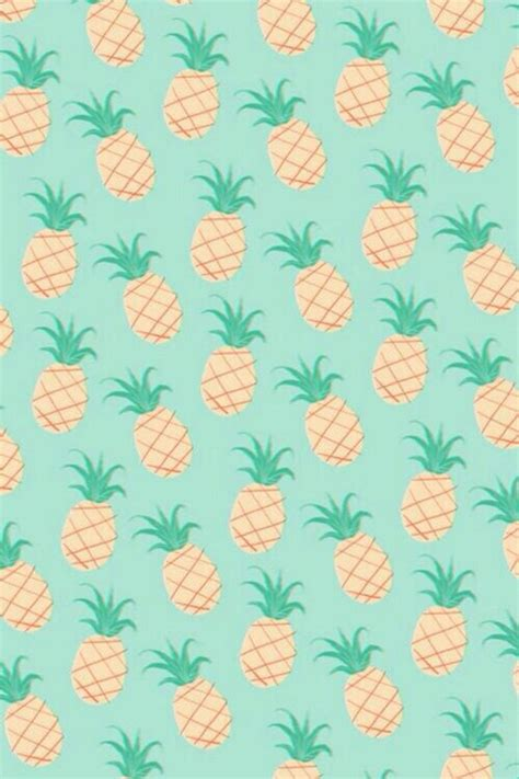 pineapple pattern hd pineapple pastel iphone background image 2174052 by