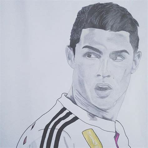 dessin de foot de ronaldo by oce s byoce s instagram photos and videos