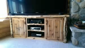 custom tv stands custom log entertainment center tv stand log furniture