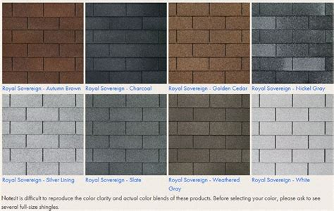 shingle color choices prestige home solutions