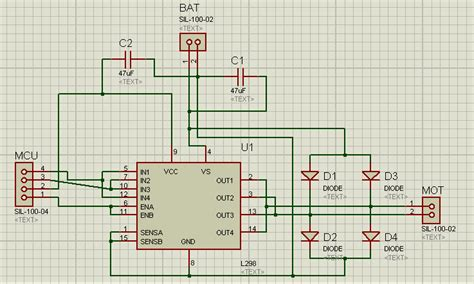 layout editor capacitance pcb design l298 overheating issue electrical