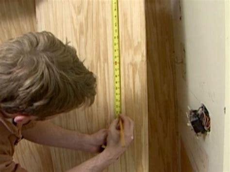 install beadboard paneling diy