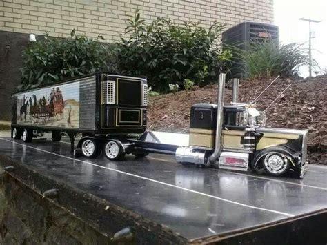 model semi trucks custom peterbilt model truck big rigs the