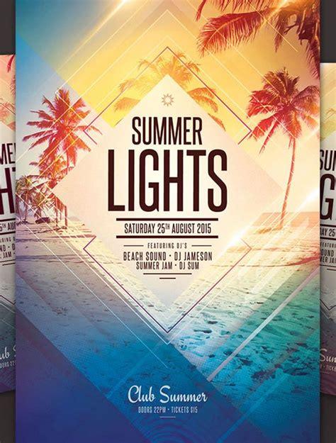 summer flyer template best summer flyer templates no4 download psd