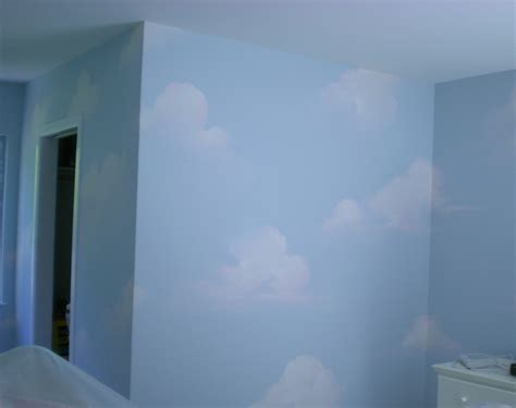 painting the walls painted sky the master s touch decorative painting