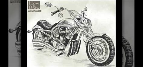 How To Draw A Harley Davidson V Rod 171 Drawing