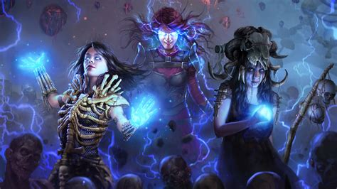 path  exile ascendancy  hd games  wallpapers