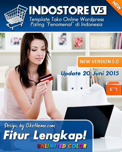 Theme Template Toko Indostore update terbaru indostore theme version 5 0 2 pasang