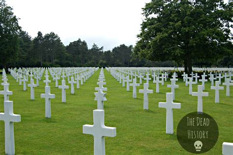 s day in the cemetery normandy american cemetery the dead history