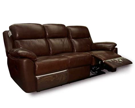 Leather 3 Seater Recliner Sofa by 3 Seater Recliner Leather Sofa Cavendish 3 Seater