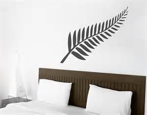 Wall Stickers Nz Silver Fern Your Decal Shop Nz Designer Wall Art