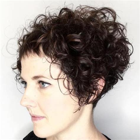 curly short hair all about curly hair 40 cute styles featuring curly hair with bangs