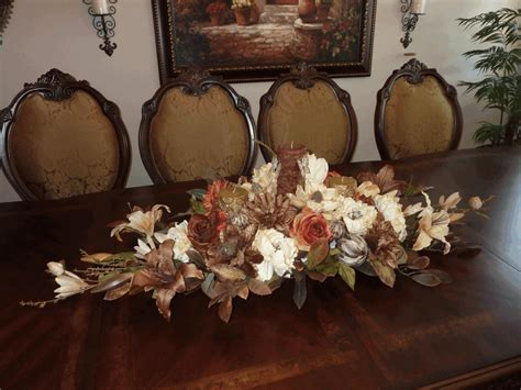 Casual Table Centerpiece Ideas Solid Wood Frame And Legs Wood Centerpieces For Tables