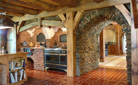 Arts And Crafts Kitchen Design Rochester Storybook House Great Northern Woodworks