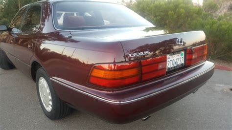 auto air conditioning repair 1990 lexus ls auto manual lexus ls sedan 1990 burgundy for sale jt8uf11e6l0036391 1990 lexus ls400 4 door v8 burgundy