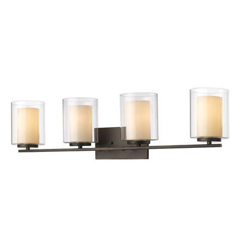 mercury glass vanity light sea gull lighting sfera 4 light autumn bronze wall bath