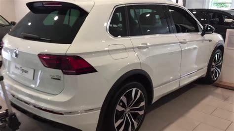 volkswagen tiguan white 2018 volkswagen tiguan r line 2 0tdi 4wd in pure white metallic