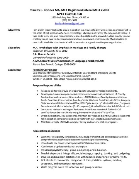 mft cover letter mft resume resume ideas