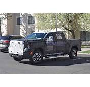 2020 GMC Sierra Denali 2500 HD Crew Cab Spied For The
