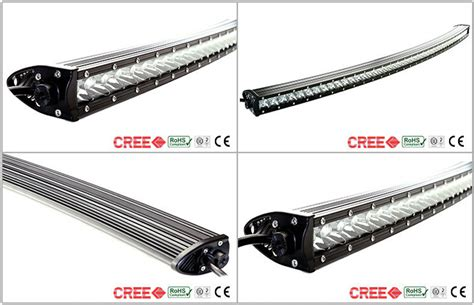 single row curved led light bar 12 volt led light bar single row curved 250w 52 inch 12