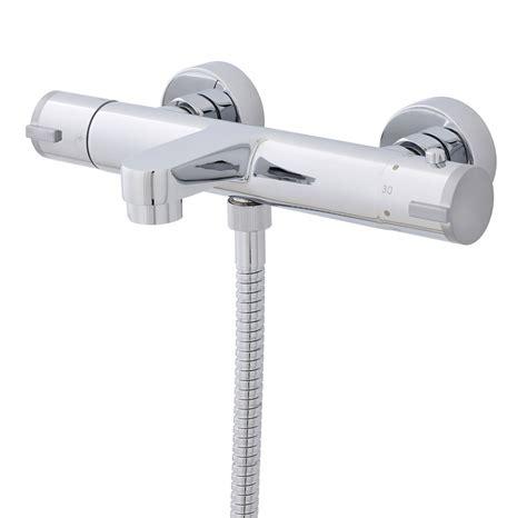 premier bathroom wall mounted thermostatic bath shower