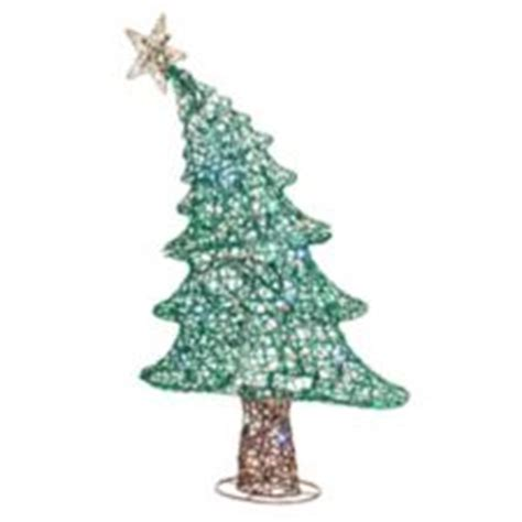 noma pre lit whimsical bent christmas tree 36 in