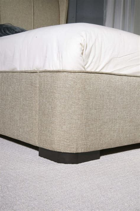 Fabric Bed Frames Limelight Cassini 4ft6 Oatmeal Fabric Bed Frame By Limelight Beds