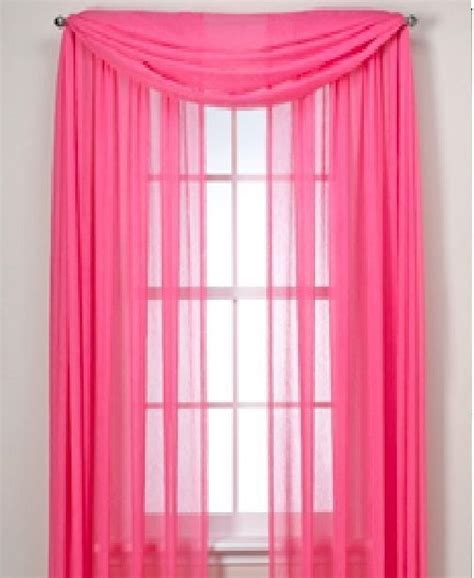 hot pink curtain panels 1000 ideas about scarf curtains on pinterest custom