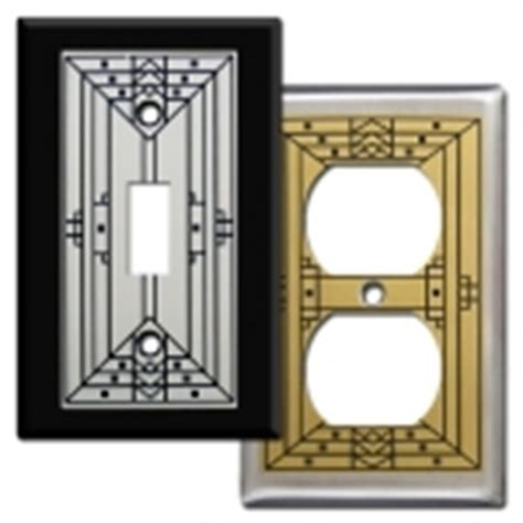 craftsman style light switches kyle design decorative switch plates unique metal wall