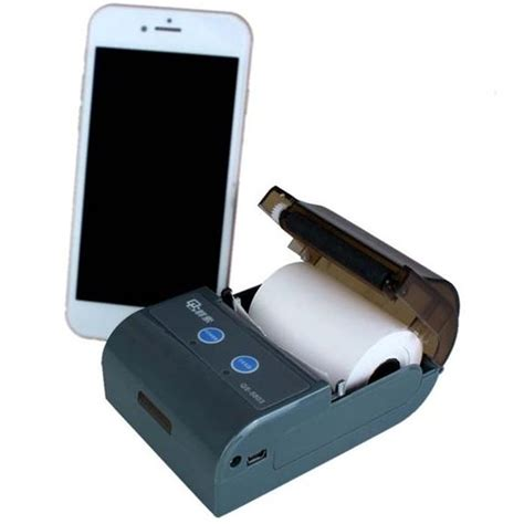 bluetooth mobile printer mini barcode printer portable label bluetooth mobile